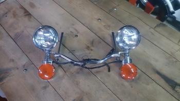 Verlichting - Franky\'s Motorcycles in Sneek, Friesland